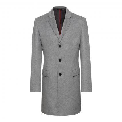 Mantel 'Migor' aus Wolle-Mix grau (034 Medium Grey) | 44