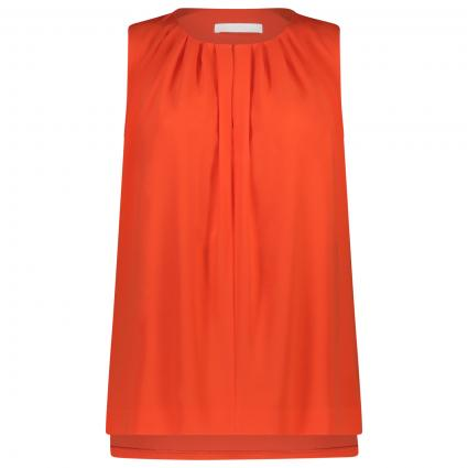 Ärmellose Bluse 'Irvetta'   orange (820 Bright Orange) | 36