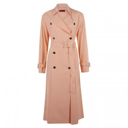 Langer Trenchcoat 'Mojane' orange (830 Light/Pastel Ora) | 38