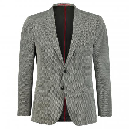 Extra Slim-Fit Sakko 'Arti' in grafischer Musterung grau (081 Open Grey) | 50