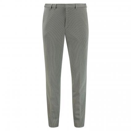 Slim-Fit Hose 'Hesten' mit grafischem Muster grau (081 Open Grey) | 48