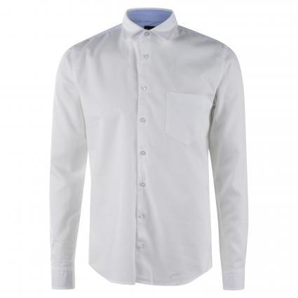 Slim-Fit Hemd 'Mypop'  weiss (100 White) | XXL