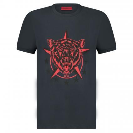 T-Shirt 'Diete' mit Print marine (405 Dark Blue) | L