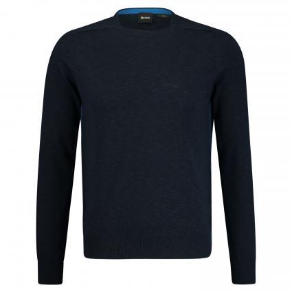 Pullover 'Kabiro' in melierter Optik marine (404 Dark Blue) | L