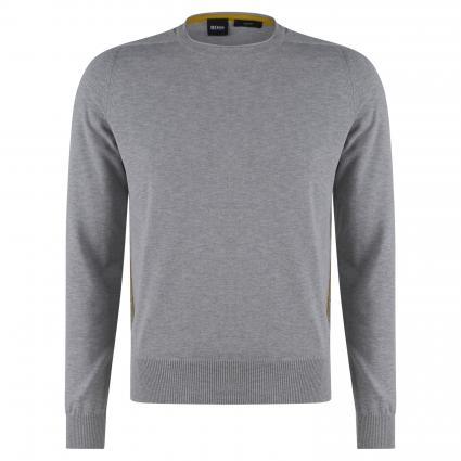 Pullover 'Kabiro' in melierter Optik silber (043 Silver) | XXL