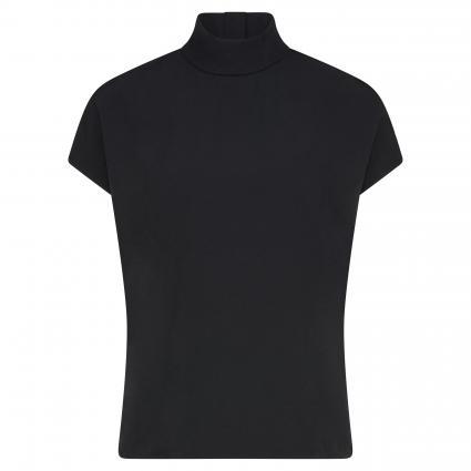 Bluse 'Dijanna' mit Stehkragen schwarz (001 Black) | XS