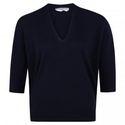 Pullover 'Figara' mit V-Ausschnitt blau (466 Open Blue) | M