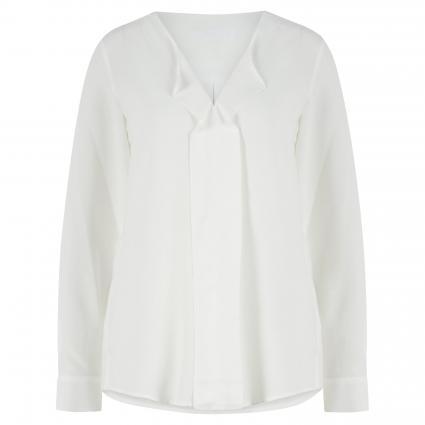 Fließende Bluse mit dekorativem Detail ecru (2 2 OFFWHITE) | 34