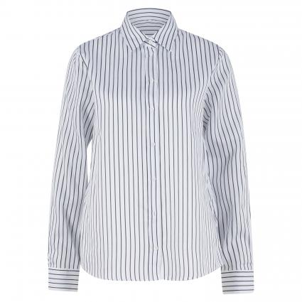 Bluse mit Streifenmuster weiss (1 1 OPT. WHITE) | 42