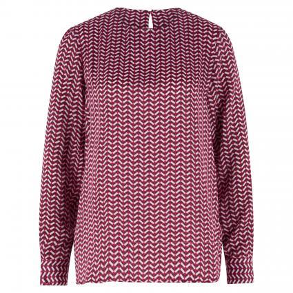 Bluse mit Musterung rot (46 46 GRANITA) | 44