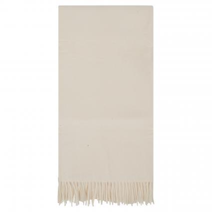 Schal mit Fransenabschluss ecru (17 off-white)   0