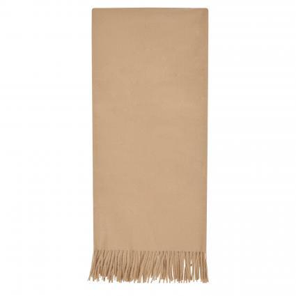 Schal mit Fransenabschluss camel (14 camel) | 0
