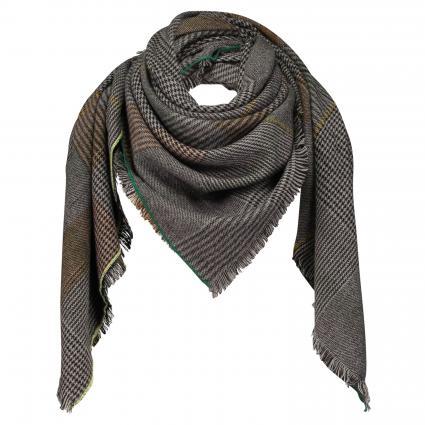 Schal mit Musterung grau (59 grey) | 0