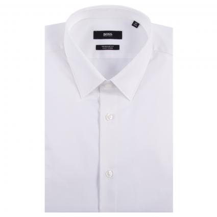 Regular-Fit Hemd 'Eliott' weiss (100 White) | 39
