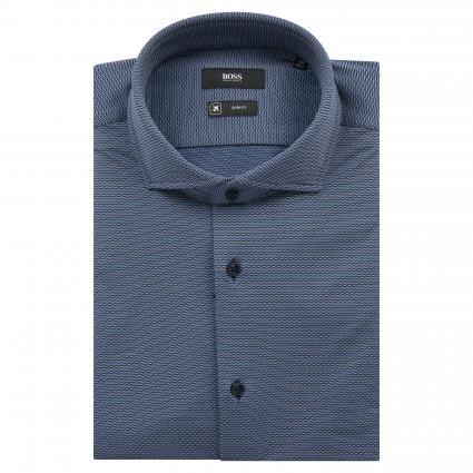 Slim-Fit Hemd 'Jason' marine (402 Dark Blue) | 39