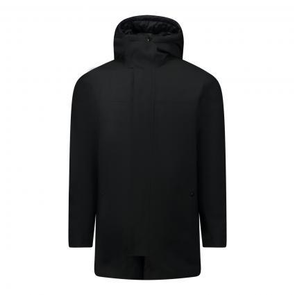 Jacke 'Cruso' mit Jackeneinsatz schwarz (001 Black) | 50