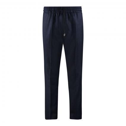 Slim-Fit Hose 'Howard' aus Schurwolle blau (429 Medium Blue) | 48