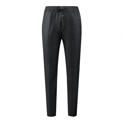 Hose 'Howard' aus Schurwolle anthrazit (016 Charcoal) | 52