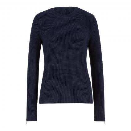 Pullover 'Saeed' blau (464 Open Blue)   M