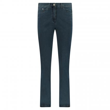 Slim-Fit Jeans 'Laura Touch' blau (25 STONED) | 36