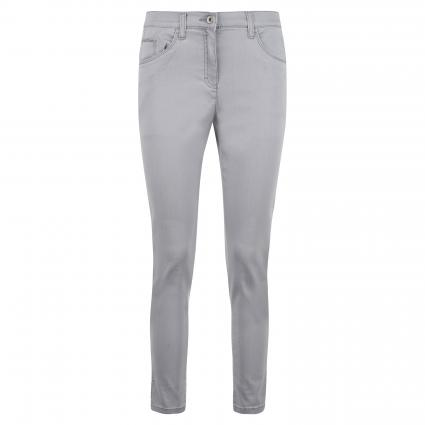 Slim-Fit Jeans 'Lesley S'  silber (03 LIGHT GREY) | 36