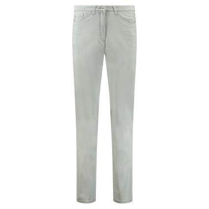 Slim-Fit Jeans 'Laura Touch' silber (03 LIGHT GREY) | 48