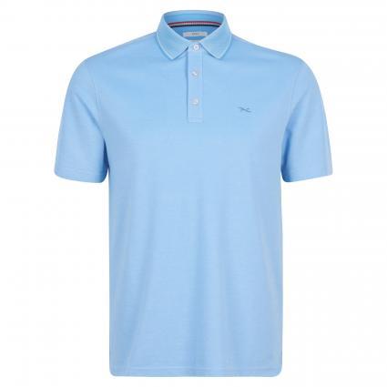 Poloshirt 'Petter' mit Strukturmuster blau (27 ARCTIC) | M