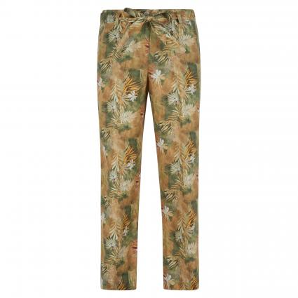 Relaxed-Fit Leinenhose 'Maine S'  camel (54 TOFFEE) | 38