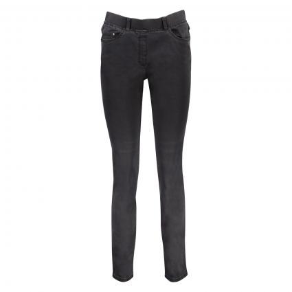 Jeans 'Lavina' mit elastischem Bund anthrazit (08 ANTHRA)   40
