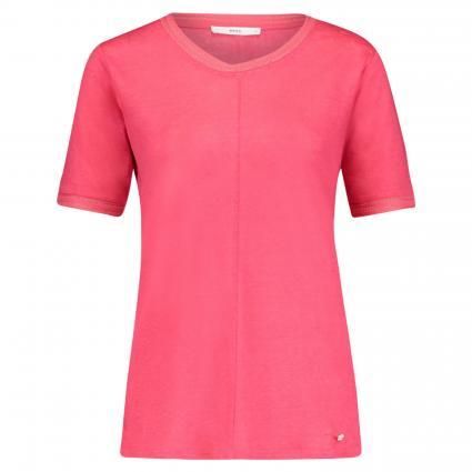 T-Shirt 'Cathy' mit Bortendetail orange (85 PAPAYA)   44