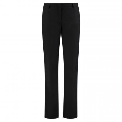 Relaxed Fit Hose 'Milano' schwarz (02 BLACK) | 76