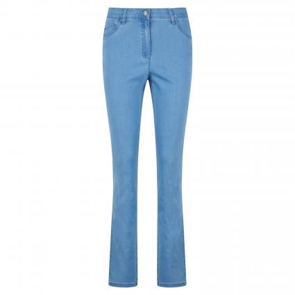Slim-Fit Jeans 'Ina Fay' blau (28 BLEACHED) | 38
