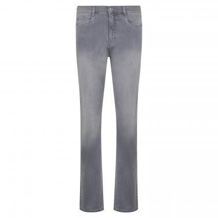 Comfort-Fit Jeans 'Carola' grau (04 USED GREY) | 80