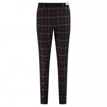 Pantalon'Lillyth' avec motif à carreaux All-Over  rouge (42 RED) | 25