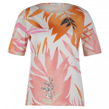 T-Shirt 'Collette' mit Print und Pailletten beige (59 BEACH) | 36