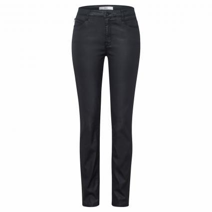 Coated Skinny-Fit Jeans schwarz (02 CLEAN BLACK) | 19
