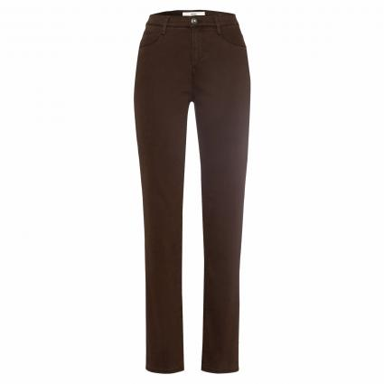 Feminin-Fit Jeans 'Carola' braun (52 BROWN) | 46