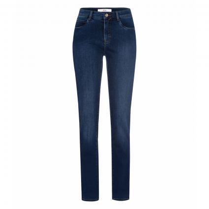 Slim-Fit Jeans 'Carola' blau (24 USED DARK BLUE) | 46