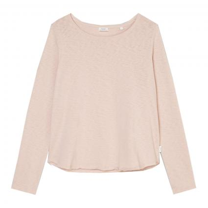 Langarmshirt mit Rundhalsausschnitt pink (623 Faded pink)   XS