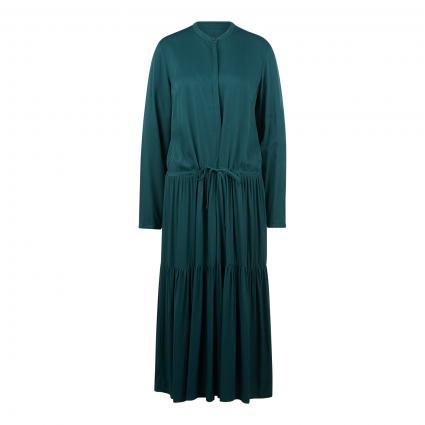 Blusenkleid mit Falten-Details grün (477 fir tree)   L