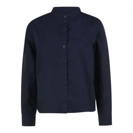 Bluse mit Faltendetails blau (834 Scandinavian blu) | XL