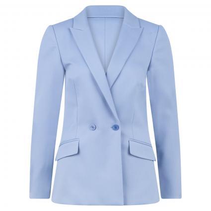 Langer Blazer 'Anomis' blau (439 Bright Blue) | 40