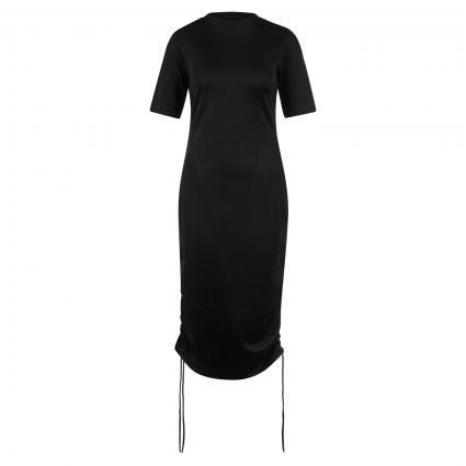 Kleid 'Nakris' mit Raff-Details schwarz (001 Black)   XL