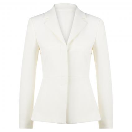 Taillierter Blazer 'Jasty' weiss (118 Open White)   40