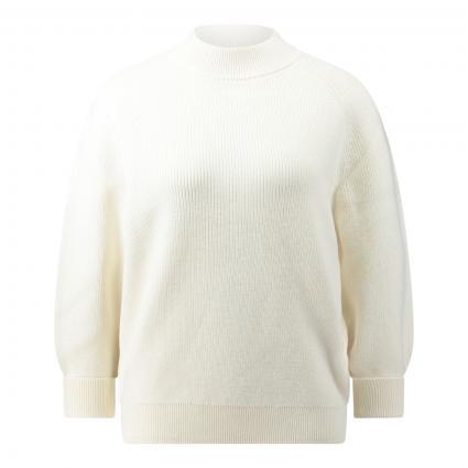 Strickpullover 'Flaura' weiss (118 Open White) | XL