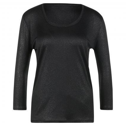 Glitzershirt schwarz schwarz (001 Black) | XS