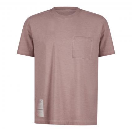 T-Shirt 'Dakiimo' mit Brusttasche  beige (239 Light/Pastel Bro)   M