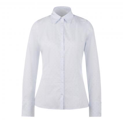 Slim-Fit Bluse 'The Fitted Shirt' blau (457 Light/Pastel Blu)   38