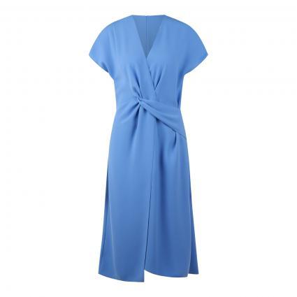 Kleid 'Ketisa' in Wickel-Optik blau (440 Turquoise/Aqua)   34