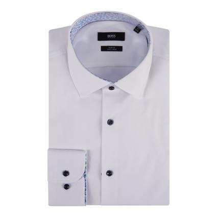 Hemd 'Jorax' Slim-Fit weiss (100 White) | 43